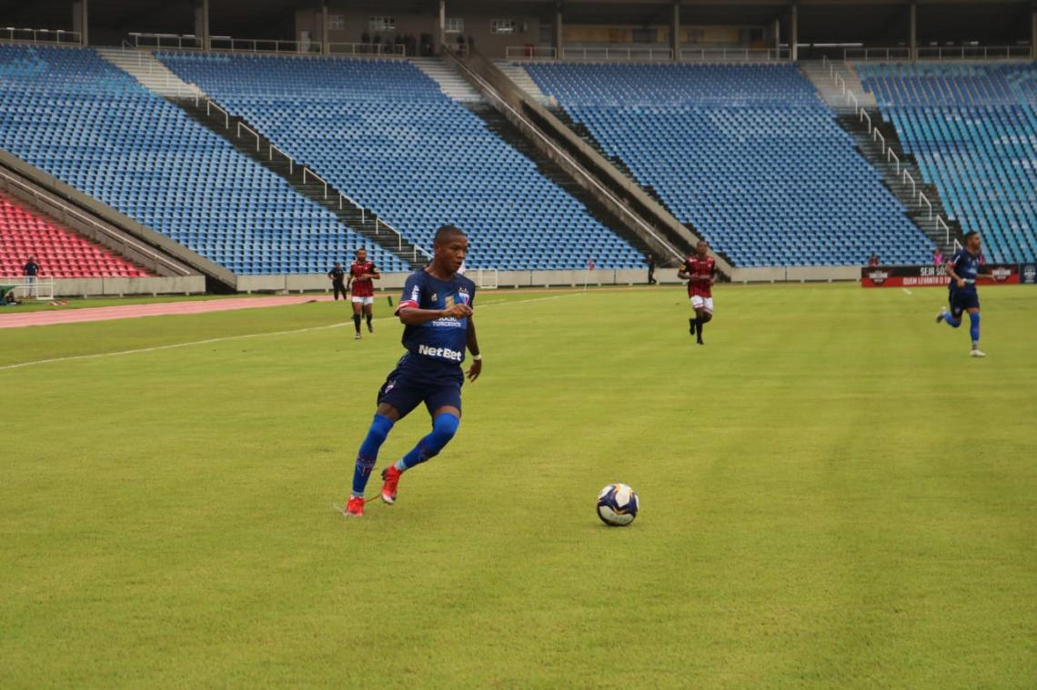 Marcinho marcou o gol do Fortaleza no Castelão de São Luís-MA