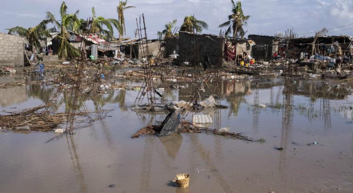 O furacão atingiu o sudeste da África no último dia 15.