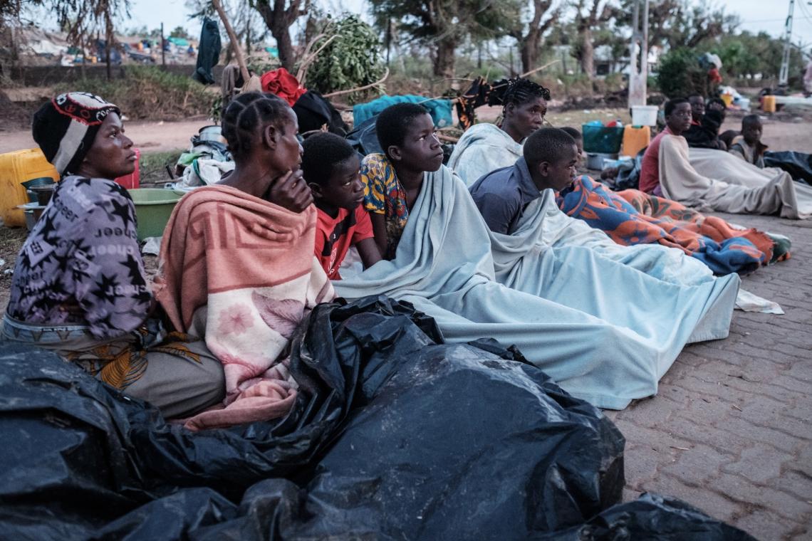 Milhares de pessoas ficaram desabrigadas em Moçambique