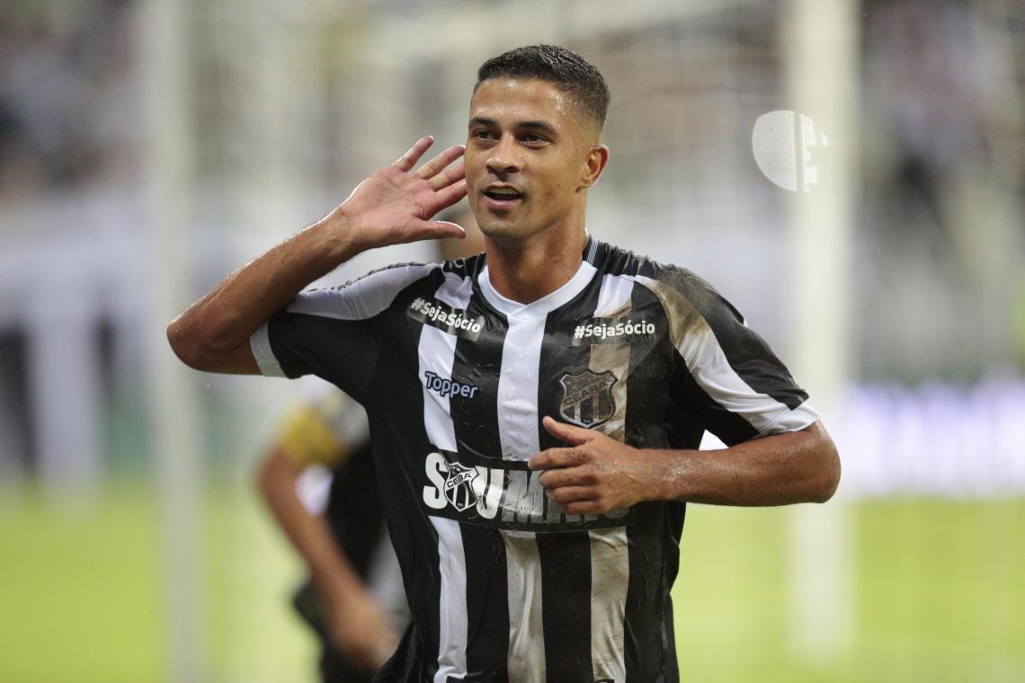Ricardo Bueno já fez 6 gols pelo Ceará na Série A