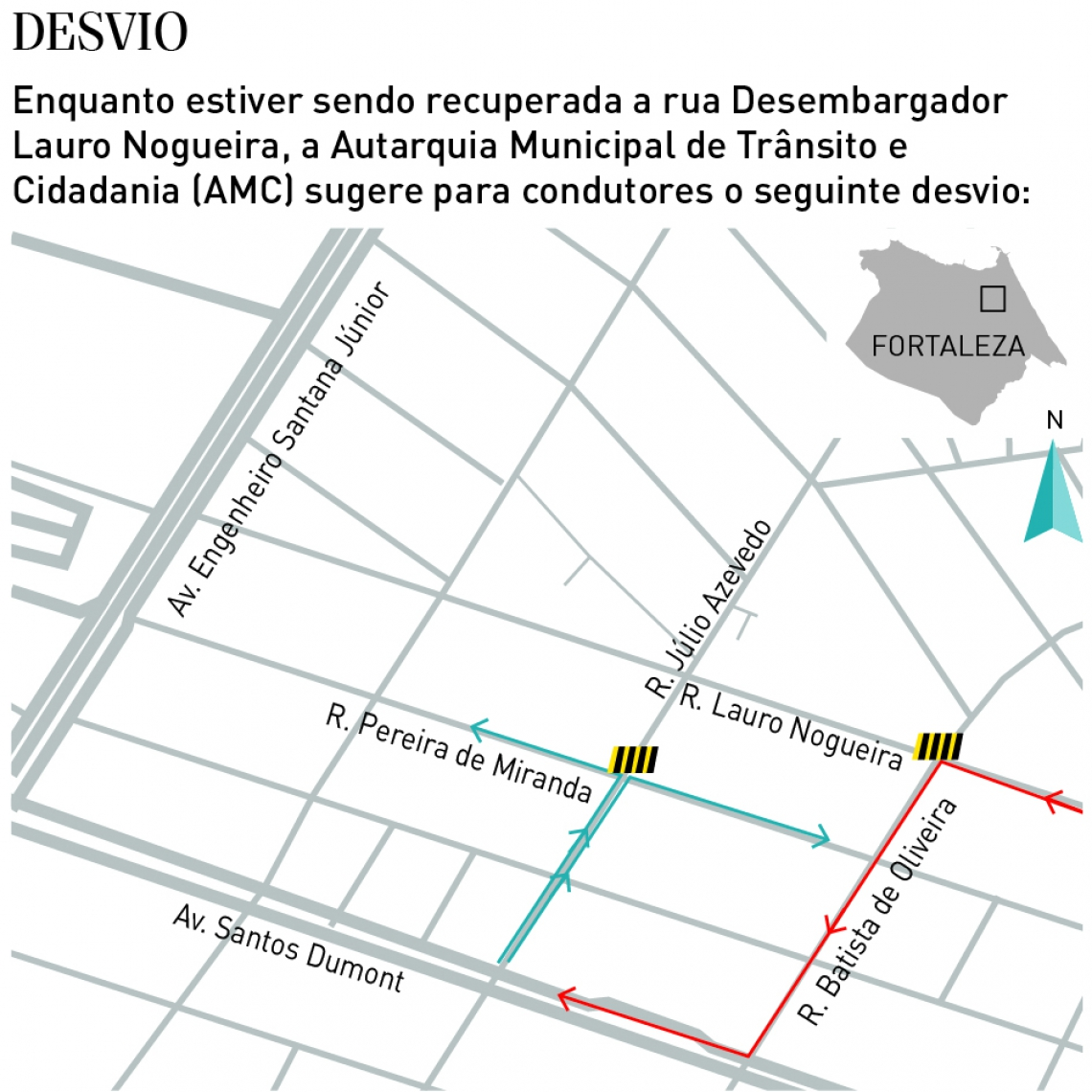 FORTALEZA, CE, BRASIL,25.03.2019: Cratera feita pelas chuvas continua aberta no Papicu, rua desembargador Lauro Nogueira.  (Fotos: Fábio Lima/O POVO)