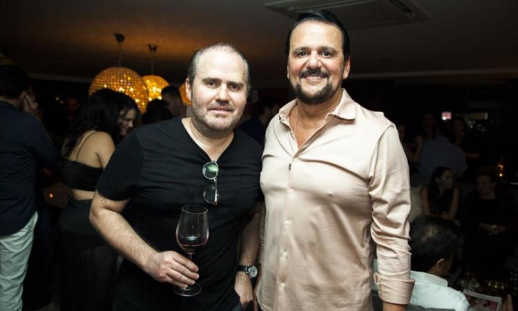 (foto 6) Roberto Pamplona Jr e Adrisio Camara