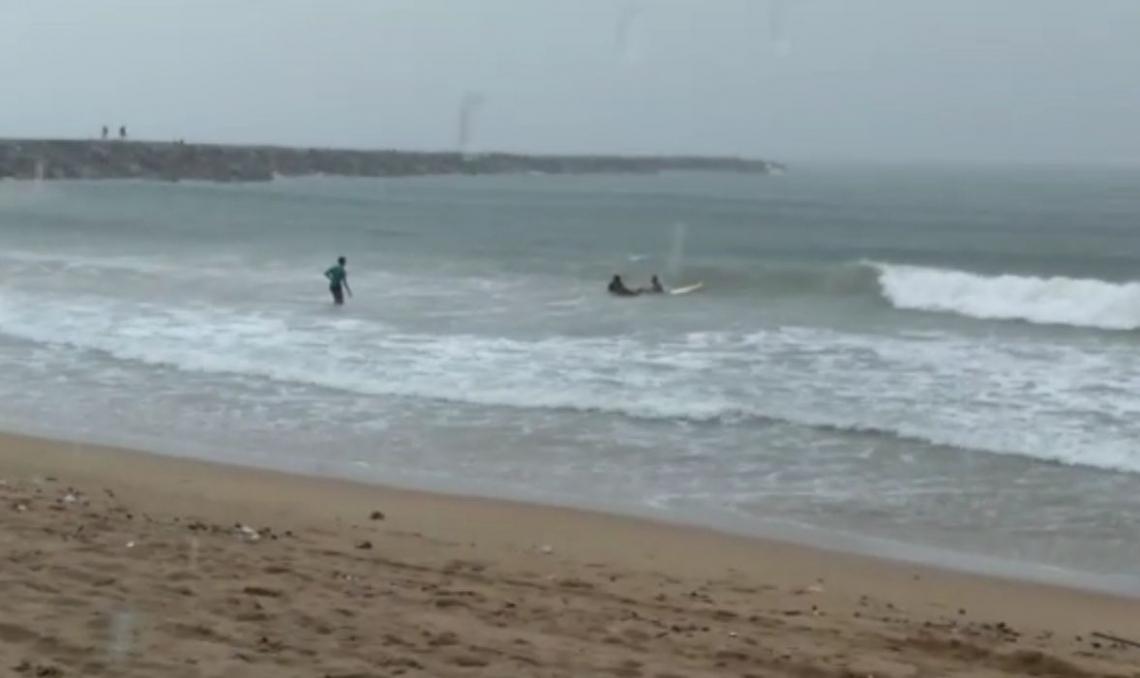 Acidente ocorreu na praia da Leste Oeste