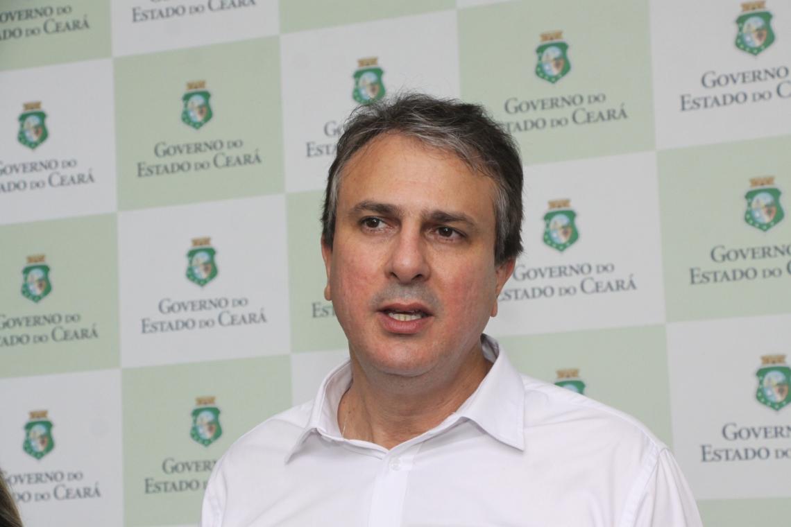 Governador Camilo Santana (PT)