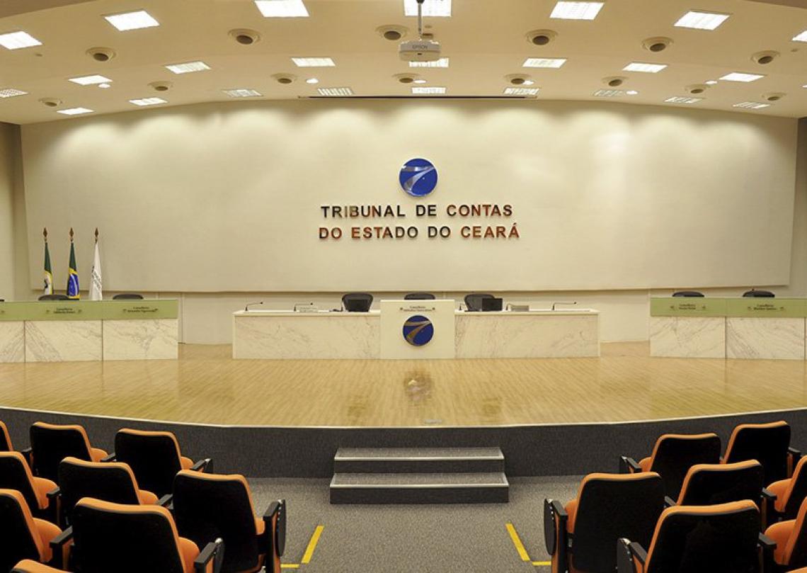 Plenário do Tribunal de Contas do Estado do Ceará