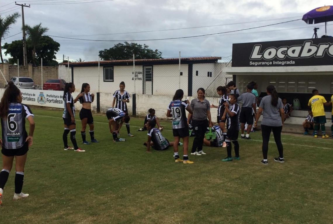 Time feminino do Ceará fez um bom jogo na estreia