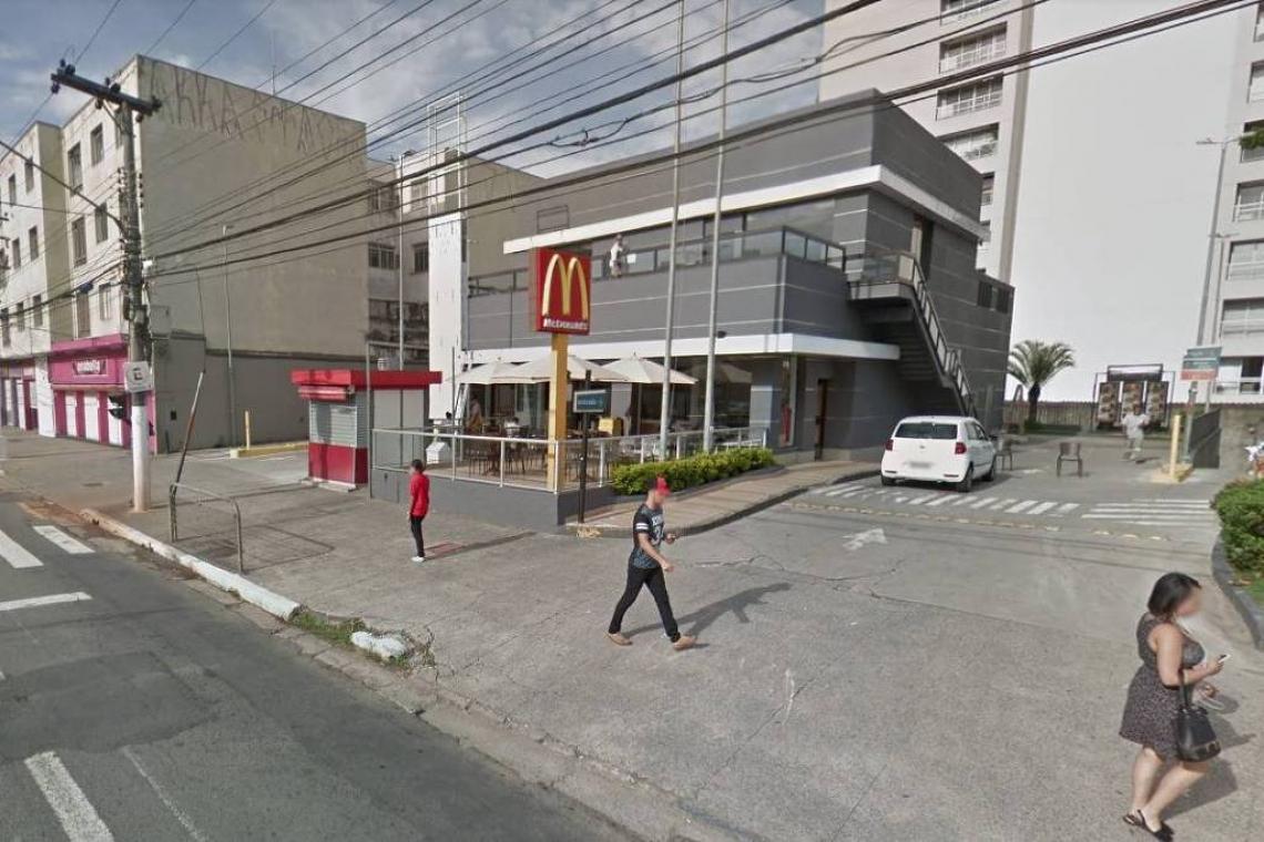 Lanchonete em São Paulo onde ocorreu o caso.