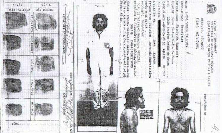 O autor de O Alquimista relatou ter sido torturado durante a Ditadura Militar