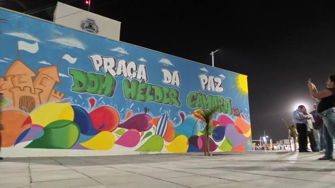 Praça da Paz Dom Hélder Câmara foi renomeada em 2014