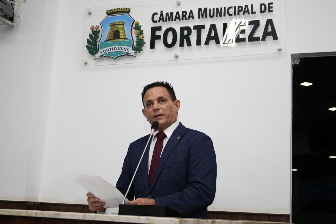 Vereador Plácido Filho (PSDB), parlamentar que mais aprovou projeto nesses três anos