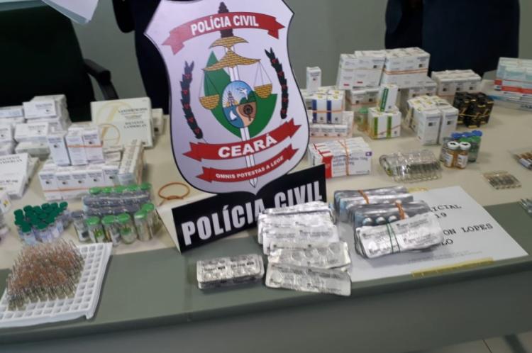 A média do prejuízo para o mercado ilegal deve ser por volta dos R$ 20 mil, segundo informações da Polícia Cívil.