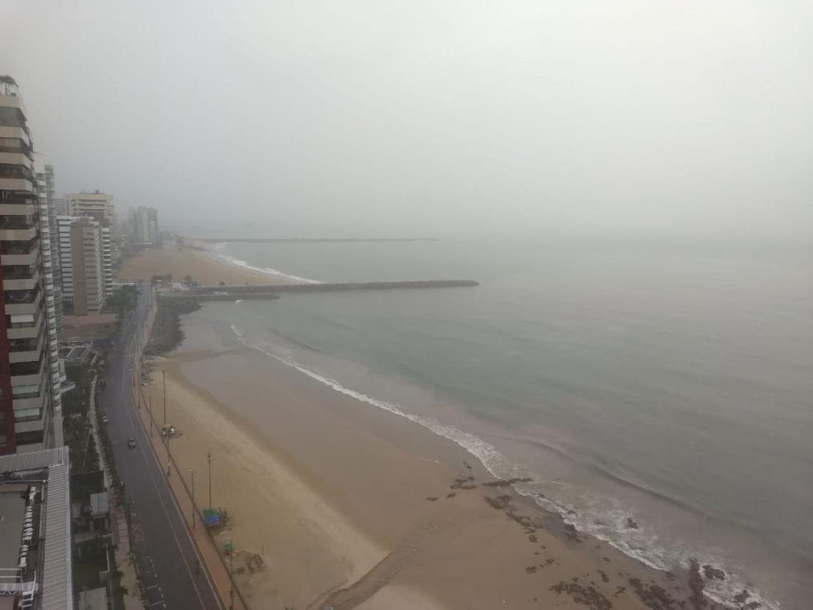 Fortaleza tem manhã de chuva intensa nesta quarta-feira, 3.