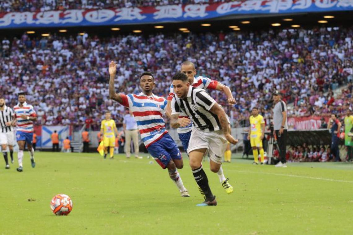 Ceará e Fortaleza empataram em 0 a 0 no Clássico-Rei válido pelo Campeonato Cearense