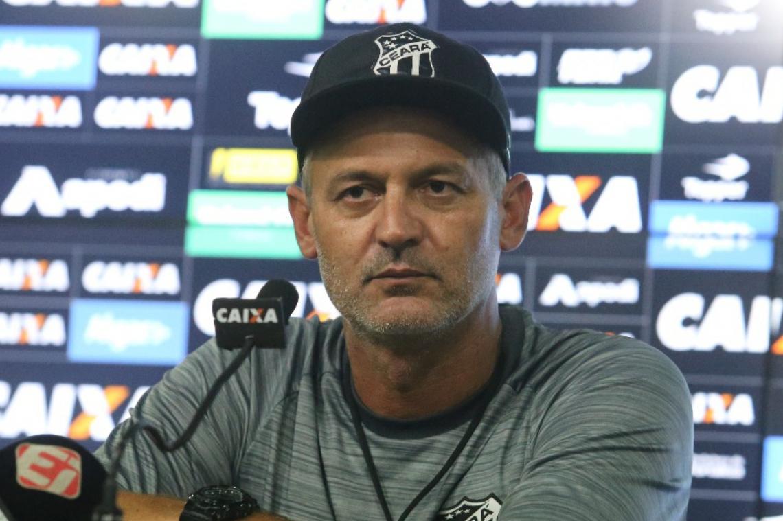 Lisca disse que a arbitragem do primeiro jogo causou a eliminação do Ceará