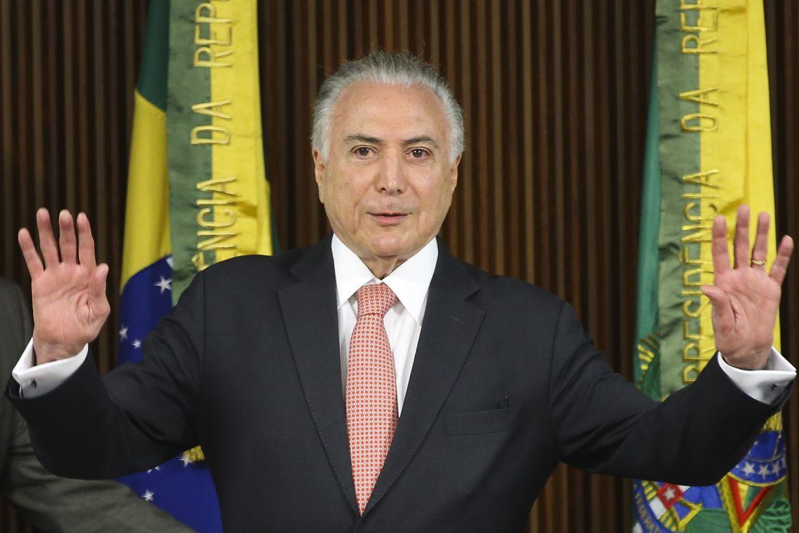 TEMER é réu em outras 3 ações penais na Justiça Federal: uma em Brasília e duas no Rio