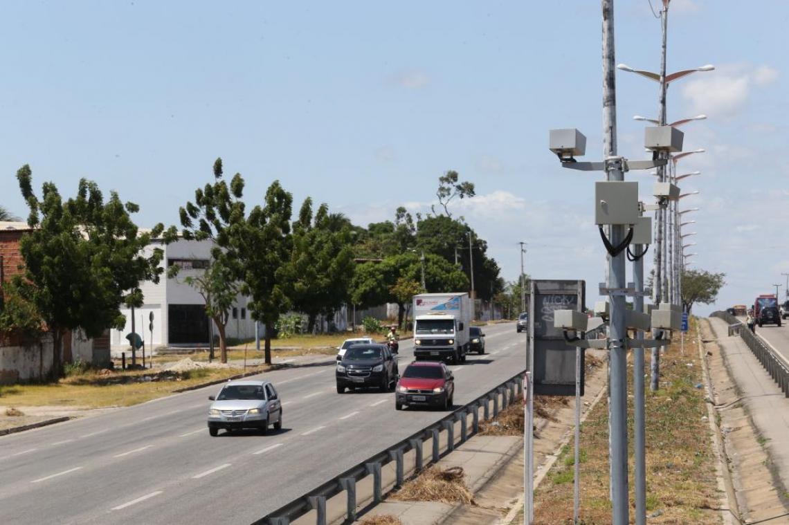 Rodovias federais no Ceará tinham 71 equipamentos de fiscalização eletrônica