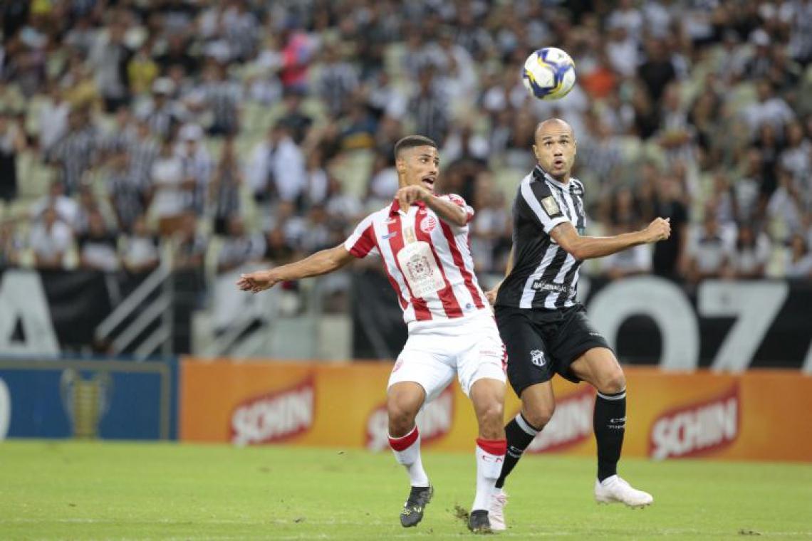 Ceará e Náutico se enfrentaram pelas quartas de final do Nordestão, no Castelão
