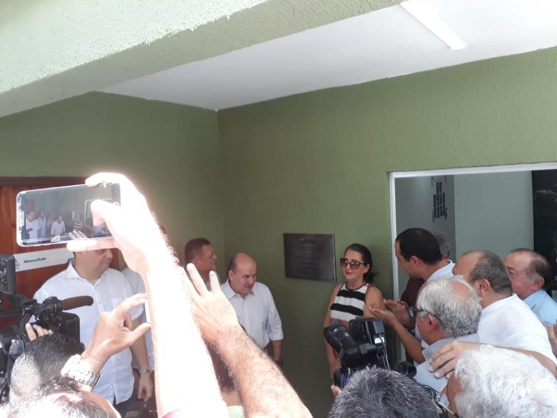 A inauguração contou com a presença do prefeito Roberto Cláudio.
