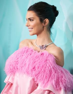 Kendall Jenner na inauguração da Tiffany&Co, em Sidney