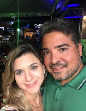 Leandro e Aline Vasques