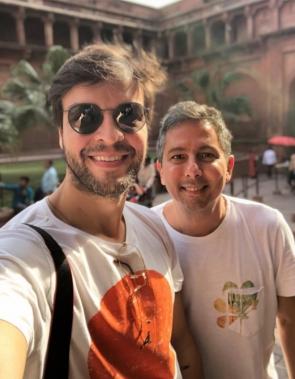 Rodrigo Jereissati e Valter Costa Lima