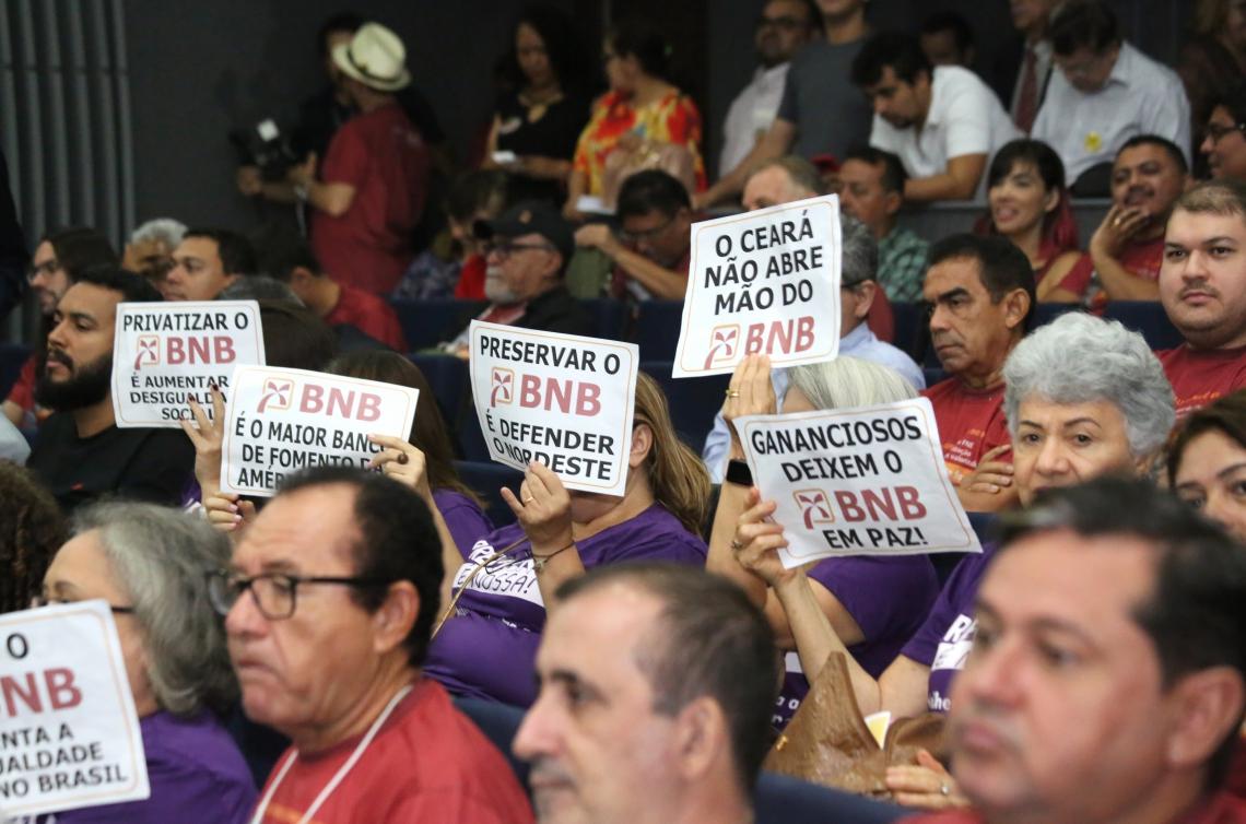 Reunião na Assembleia do Ceará marcou mobilização política em defesa do BNB