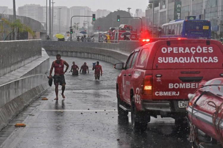 Chuva causou mortes na Cidade