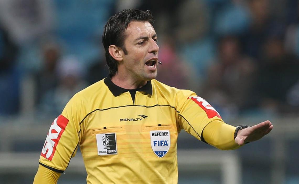 Raphael Claus comanda o primeiro jogo da final do Campeonato Cearense de 2019
