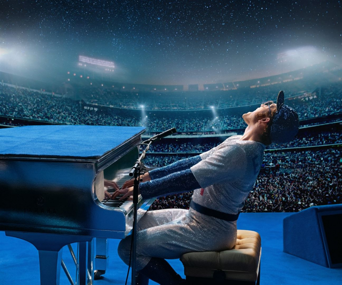Cena do filme Rocketman, sobre Elton John, que estreia nesta quinta-feira, 30