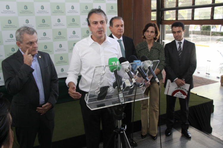O Governo do Ceará realizou a VIII Reunião do Comité de Governança do Pacto por um Ceará Pacífico nesta sexta-feira, 12