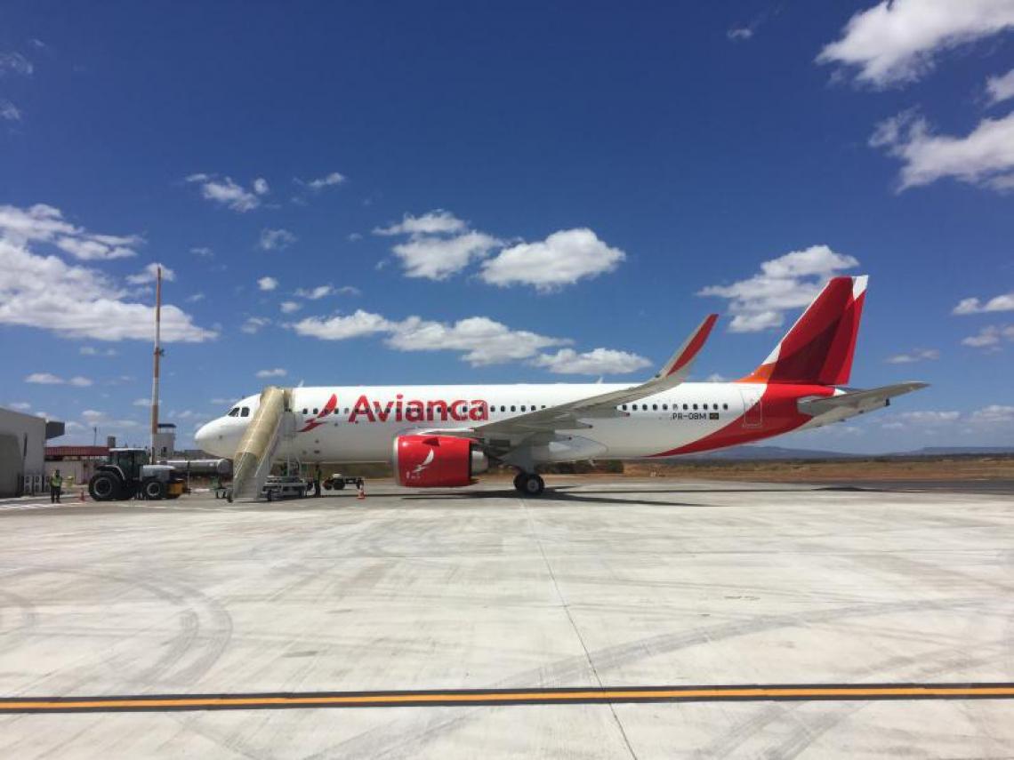 Avianca cancelou 154 voos até quarta-feira, 17