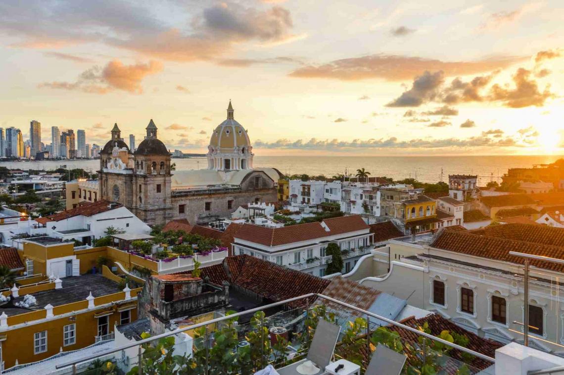 Imagem de Cartagena, quinta maior cidade da Colômbia