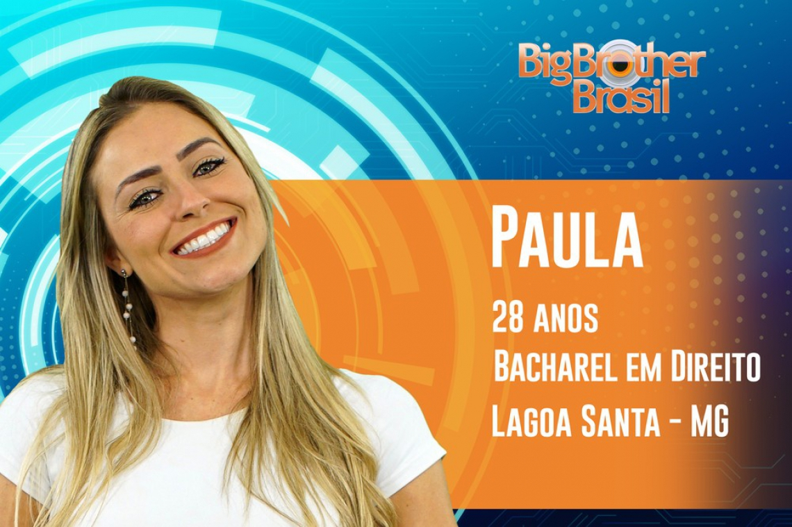 Paula ganhou o programa com 61,09% dos votos.