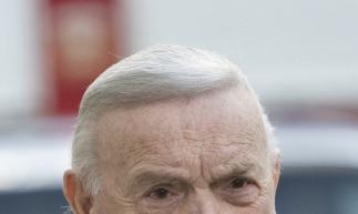 Foto tirada em dezembro de 2017 mostra José Maria Marin, ex-presidente da CBF e um dos réus do caso que ficou conhecido como