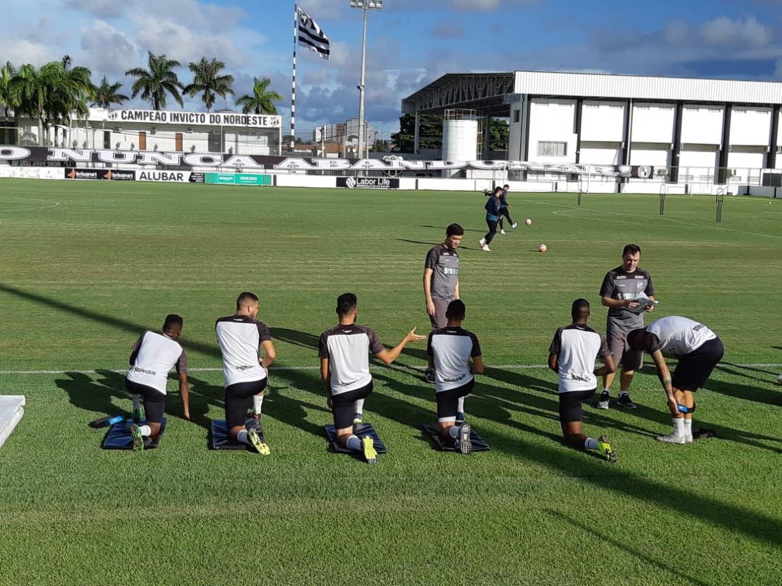 Treino treinou nesta quarta-feira, em Porangabuçu