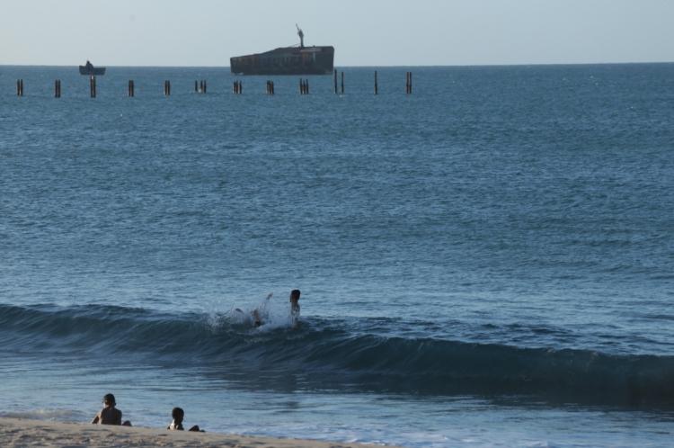 Salvamento ocorreu na Praia de Iracema
