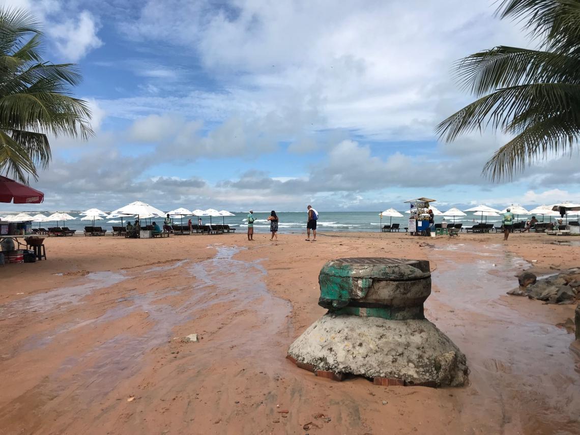 Chuvas mostram falta de estrutura na vila de Jeri