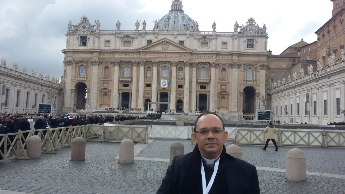 Padre da Arquidiocese de Fortaleza e Missionário da Misericórdia Pe. Rafhael Silva Maciel