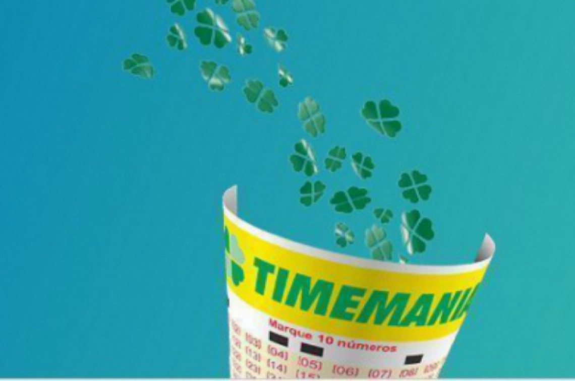 O resultado da Timemania Concurso 1320 foi divulgado na noite desta quinta, 18 de abril (18/04)