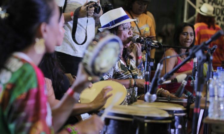 Grupo Samba Delas compõe as atrações da Festa de São Jorge
