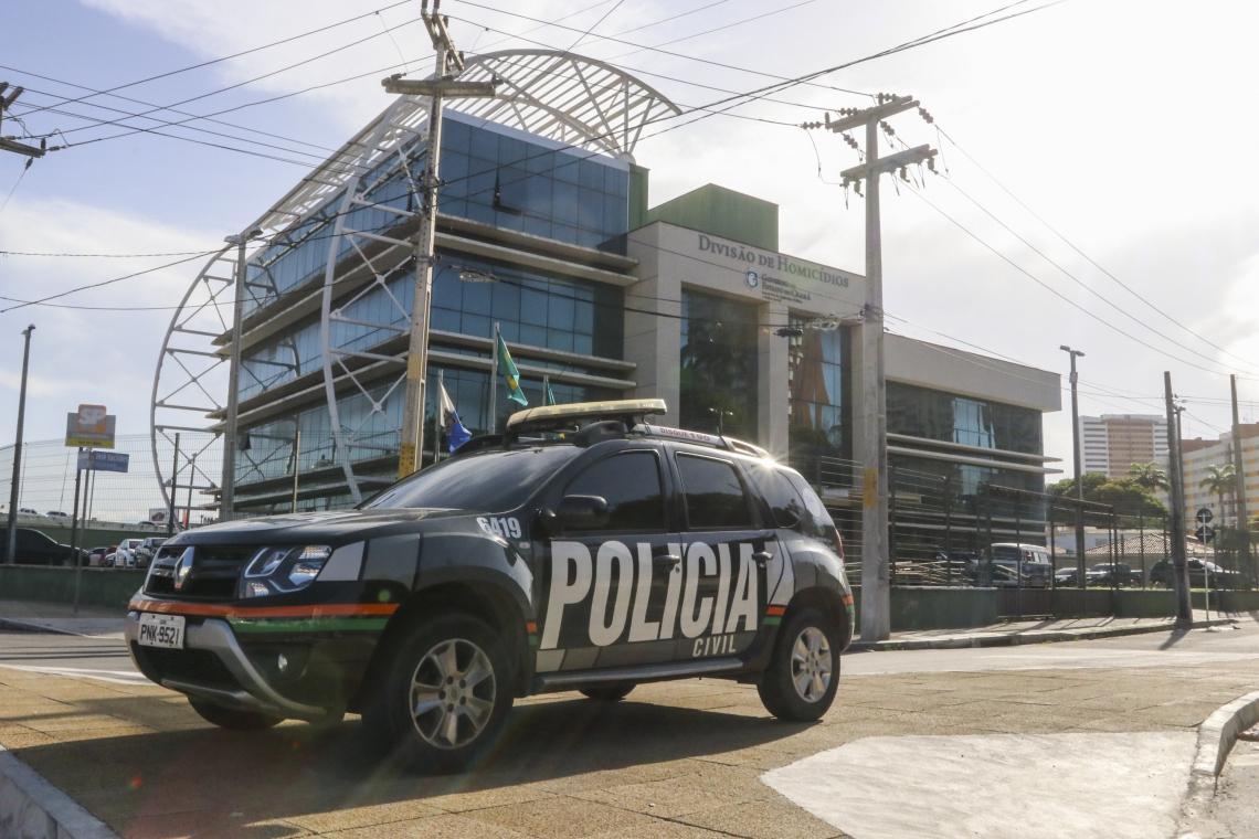 Sede da Divisão de Homicídios, da Polícia Civil, em Fortaleza