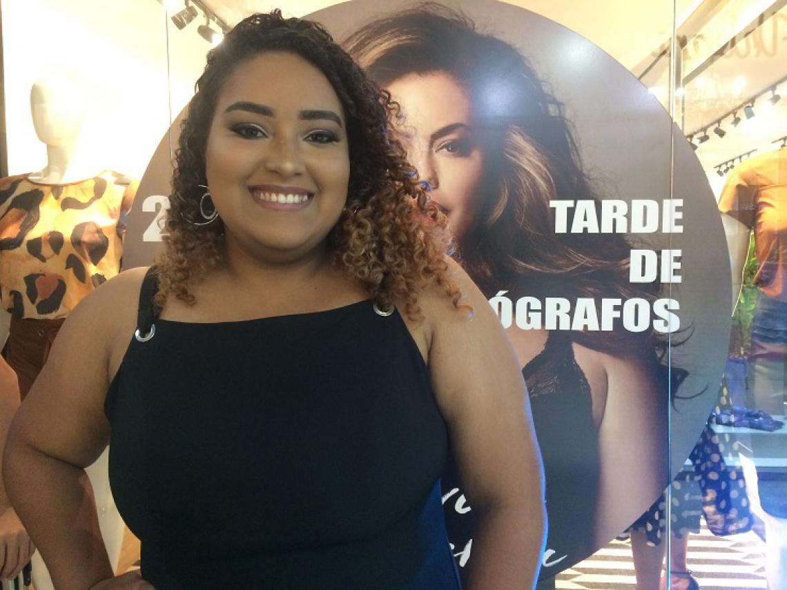 A influenciadora digital, Vitória Régia, é candidata ao Miss Ceará Plus Size 2019.