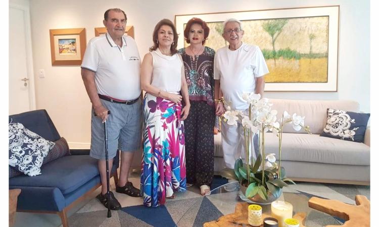Walter Valente e Maria Newman - Irene Delne e Edson Lopes
