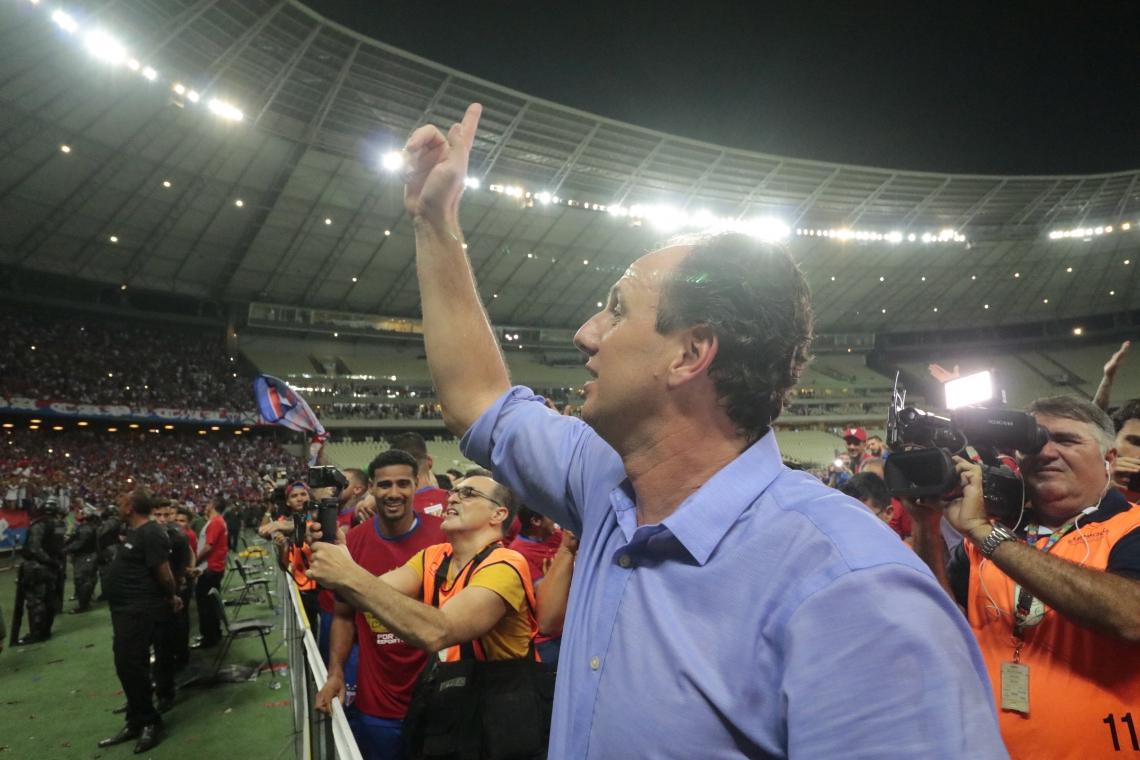 Fortaleza e São Paulo foram os dois times que Ceni dirigiu na carreira de técnico
