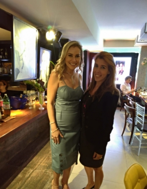 Talyzie e Raquel Machado