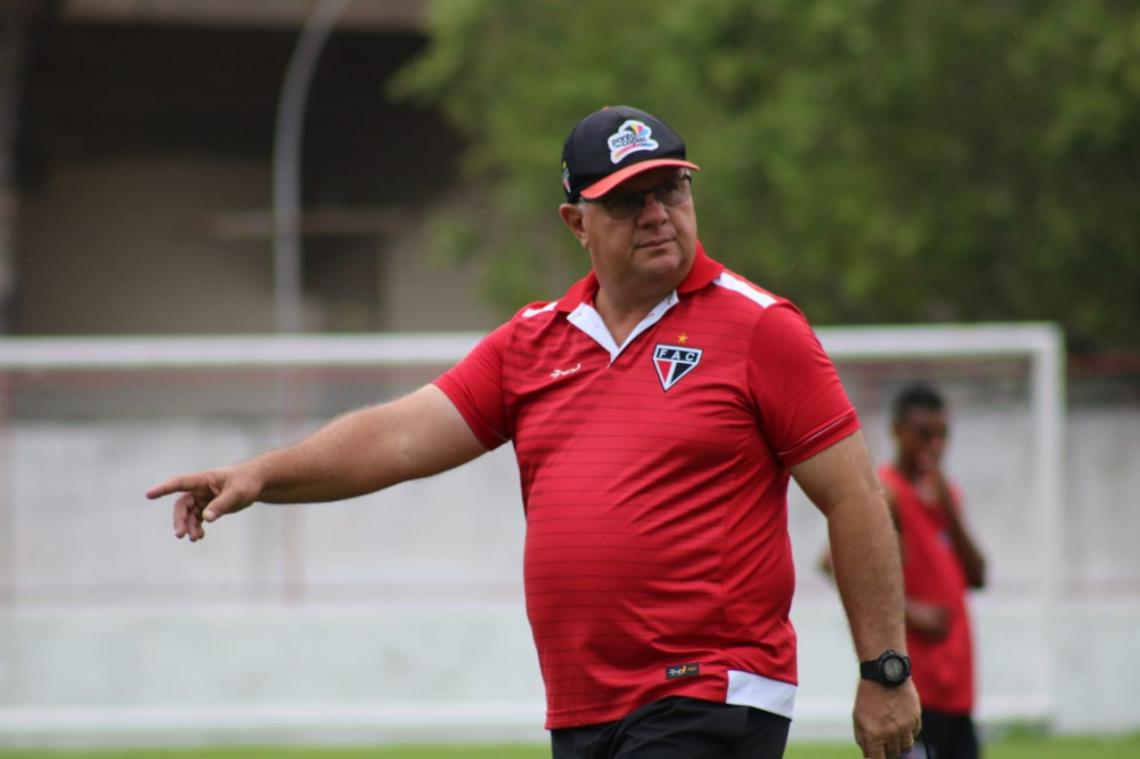 Para o técnico Marcelo Vilar, objetivo principal do Ferrão é se manter na Série C