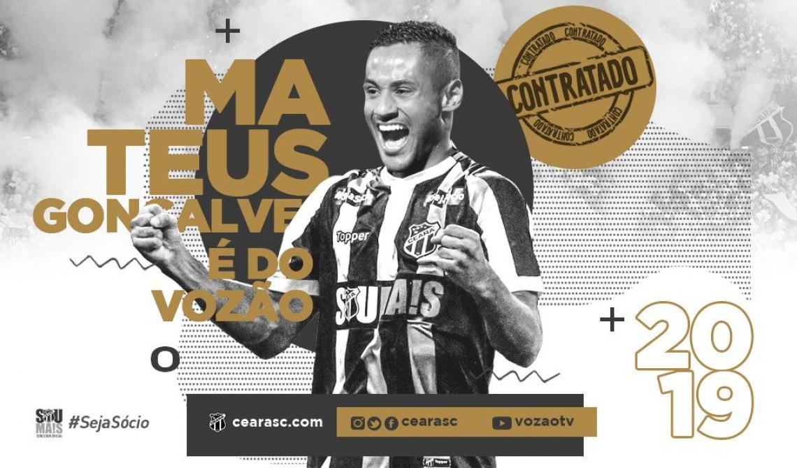 Atacante vem por empréstimo do Fluminense