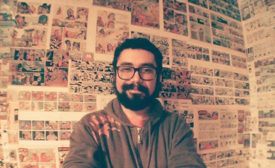 o roteirista de quadrinhos Pedro PJ Brandão vai mediar o debate sobre Quadrinhos e Cinema