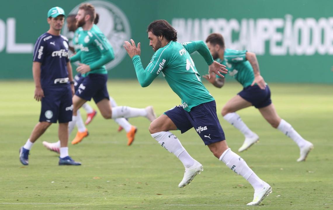 GOULART ficou apenas quatro meses no Palmeiras