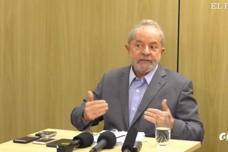 Lula concedeu primeira entrevista após ser preso.